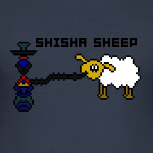 Shisha Sheep - Men's Slim Fit T-Shirt