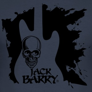 Jack Barry Skull 4 - Men's Slim Fit T-Shirt
