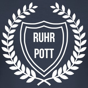 RUHRPOTT LOGO - Slim Fit T-shirt herr