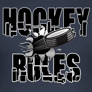 Hockey Rules - Men's Slim Fit T-Shirt