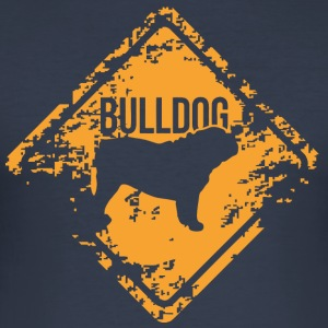 Bulldog - Norsk Bulldog - Slim Fit T-skjorte for menn