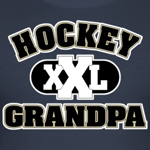 Hockey Grandpa Grandfather - Men's Slim Fit T-Shirt