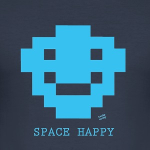 space-space - Men's Slim Fit T-Shirt