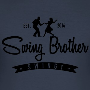 Swing brother Swing - Slim Fit T-skjorte for menn
