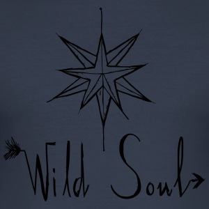 Wild Soul - Slim Fit T-skjorte for menn