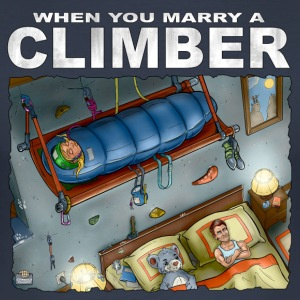 When You Marry A Climber 01 - Men's Slim Fit T-Shirt