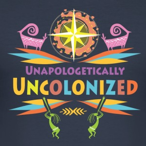 Uncolonised. - Slim Fit T-shirt herr