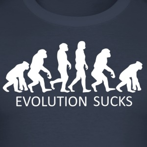 ++ ++ Evolution Sucks - Tee shirt près du corps Homme