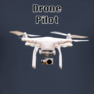 drone pilot - Slim Fit T-shirt herr
