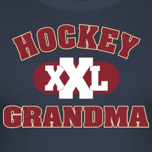 Hockey bestemor bestemor - Slim Fit T-skjorte for menn