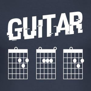 Guitar Dad - Männer Slim Fit T-Shirt