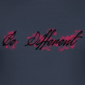 be_different - Maglietta aderente da uomo