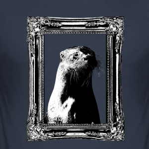 Historic Otter - Männer Slim Fit T-Shirt