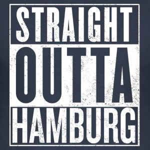 Straight Outta Hamburg - Herre Slim Fit T-Shirt