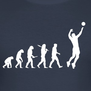 Evolution Volleyball Man - Men's Slim Fit T-Shirt