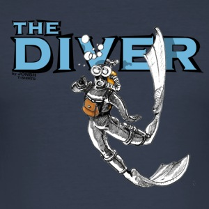 the_diver - Men's Slim Fit T-Shirt