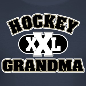 Hockey Grandma Grandmother - Men's Slim Fit T-Shirt