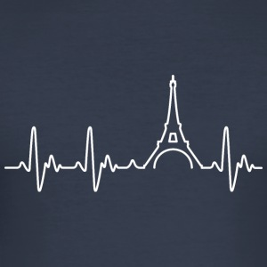 Heart of Paris - Men's Slim Fit T-Shirt