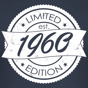 Limited Edition est 1960 - Slim Fit T-skjorte for menn