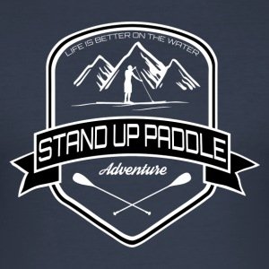 Stand Up Paddle Édition Aventure * Hommes * - Tee shirt près du corps Homme