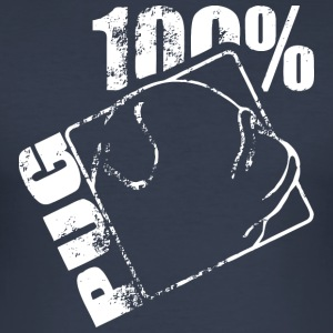 PUG 100 - Männer Slim Fit T-Shirt