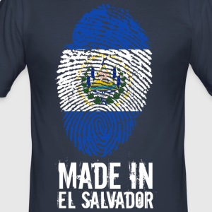 Made In El Salvador - Slim Fit T-skjorte for menn
