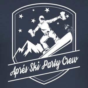 Aprés Ski Party Crew - Männer Slim Fit T-Shirt