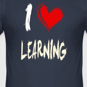 I love to learn - Men's Slim Fit T-Shirt