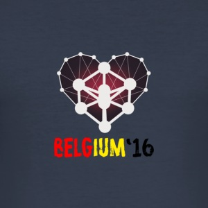 Men Belgium 2016 - slim fit T-shirt