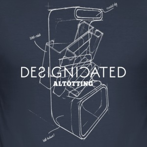 Designicated Altötting wit - slim fit T-shirt