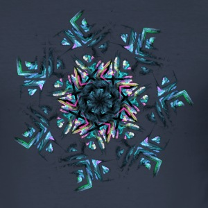 Fractals - Männer Slim Fit T-Shirt