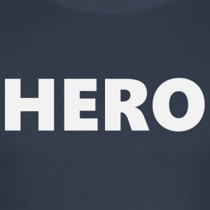Hero (2201) - Männer Slim Fit T-Shirt