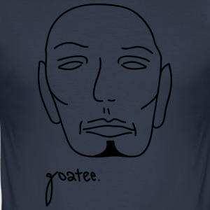 goatee - Männer Slim Fit T-Shirt