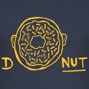 Donut - Men's Slim Fit T-Shirt