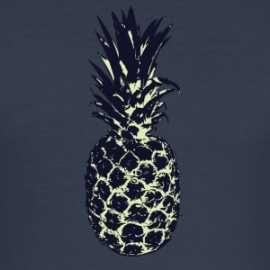 ANANAS_1 - Slim Fit T-skjorte for menn
