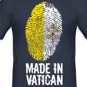 Made In Vatican / Vatican / Vatikanstadt / Pope - Men's Slim Fit T-Shirt