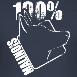 malinois 100 - Herre Slim Fit T-Shirt