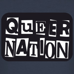 Queer Nation - Tee shirt près du corps Homme