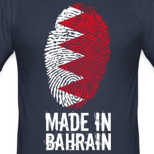 Made In Bahrain / البحرين / Bahrain - Men's Slim Fit T-Shirt