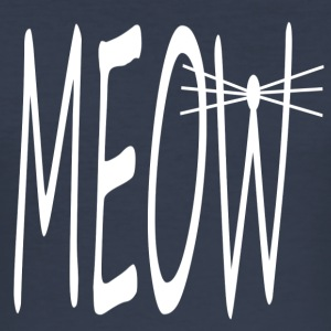 MEOW - Männer Slim Fit T-Shirt