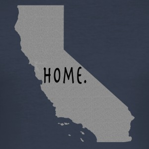Calif Home. - Männer Slim Fit T-Shirt