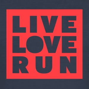Live Love Run - Men's Slim Fit T-Shirt