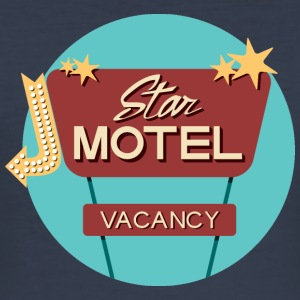 star Motel - Männer Slim Fit T-Shirt