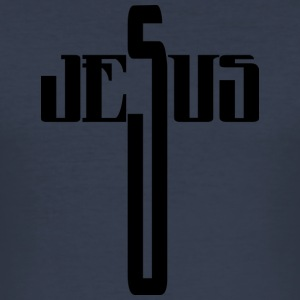 jesus - Herre Slim Fit T-Shirt