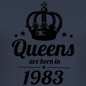 Queens 1983 - Men's Slim Fit T-Shirt