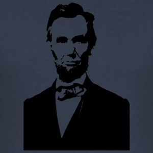 Abraham Lincoln US - Männer Slim Fit T-Shirt