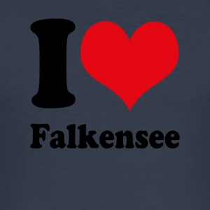 I love Falkensee - Men's Slim Fit T-Shirt