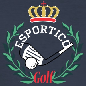 Golf clubs Narcos - Men's Slim Fit T-Shirt