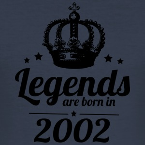 Legends 2002 - Men's Slim Fit T-Shirt