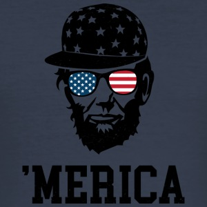 'Merica - Slim Fit T-skjorte for menn
